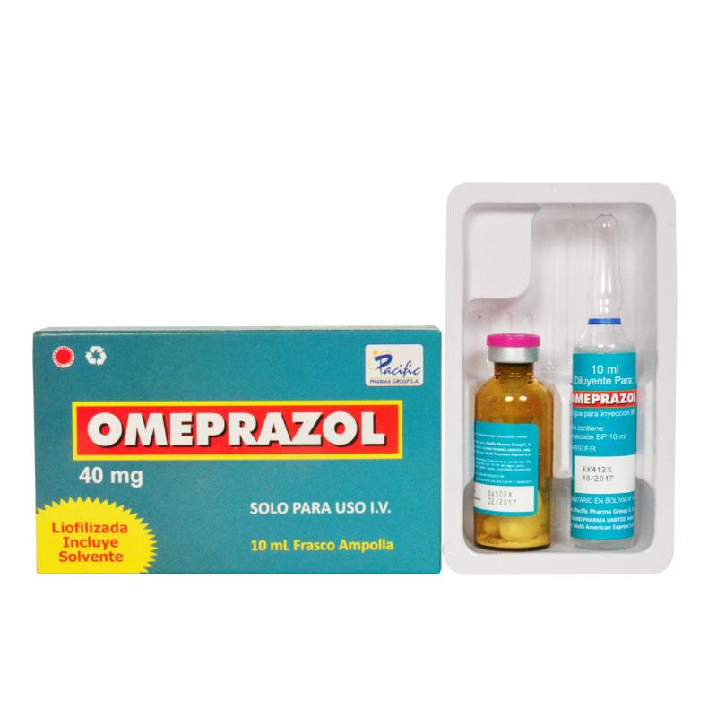 para que sirve el omeprazol de 40 mg inyectable